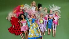 Barbie Doll Bundle Various Ages  Selection of Clothing / Accessories 11 Dolls