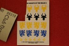 Games Workshop Warhammer Bretonnian Knights of the Realm Transfers Decals GW OOP