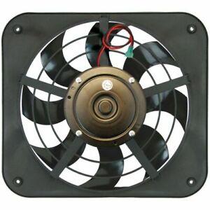 "Flex-A-Lite 104726 12 1/8"" Lo-Profile S-Blade pusher electric fan NEW"