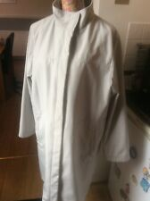 Nuage  Light Grey Raincoat Size 16 VGc Holiday 9 May 7ntil 16 June