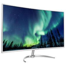 Philips Brilliance 40 Zoll LCD-Monitor mit LED-Technik - Silber/Weiß (BDM4037UW/00)