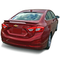 PAINTED SPOILER Deck Wing FACTORY STYLE For: CHEVROLET CRUZE 2016-2019
