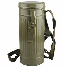 WWII WW2 GERMAN GAS MASK CANISTER CONTAINER RARE