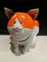 "Disney Store plush Mochi cat Big Hero 6 stuffed animal soft toy white orange 11"""