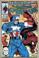 Amazing Spider-Man #323-1989 fn+ McFarlane / Sabretooth