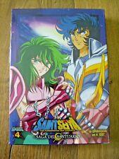 Saint Seiya Los Caballeros del Zodiaco - Saga del Santuario Box 4 - Nuevo - DVD