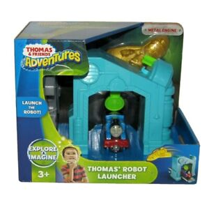 Thomas & And Friends Robot Launcher With Diecast Train Engine