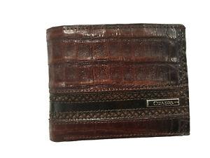B2240FL CROCODILE Wallet made by Cuadra boots