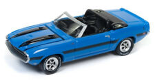 1/64 JOHNNY LGHTNING CLASSIC GOLD 4A4 1970 Ford Shelby GT500 in Grabber Blue