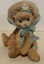 "Calico Kittens Figurine ""I'm All Fur You� Priscilla Hillman 1992 Enesco"
