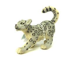 T15) Léopard des neiges 23762 qui se cache Animaux sauvages animaux léopard
