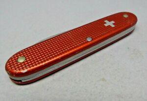 Victorinox 93mm Woodsman Swiss Army Knife in Red Alox old cross