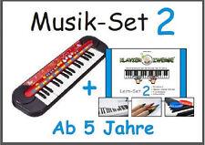 Musik-Set 2: Kinder-Keyboard von SimbaⒸ + Klavierzwerge-Lern-Set 2