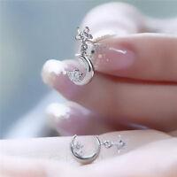 Star Moon Drop Dangle Earrings for Women Girls Earring Trendy Jewelry Wholesale