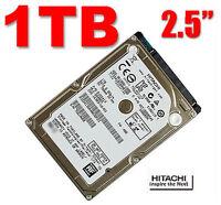 """Hitachi Travelstar 1TB SATA 2.5"""" Internal Hard Drive HTS541010A9E680 PS3/4 MAC"""
