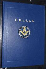 1984 HISTORY NORWEGIAN FREEMASON LODGE St Johns Logen OLAF KYRRE Masonic