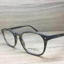 c8c19c94d0 Giorgio Armani AR 7074 Eyeglasses Striped Matte Dark Brown 5405 Authentic  50mm