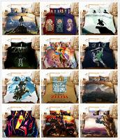 3D The Legend of Zelda Kids Duvet Cover Bedding Set Comforter Cover Pillowcase