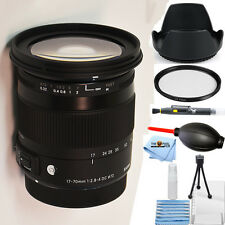 Sigma 17-70mm f/2.8-4 DC Macro OS HSM Lens for Canon!! STARTER KIT BRAND NEW!!