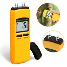 Digital LCD Wood Moisture Meter Damp Detector Tester Firewood Concrete Detector