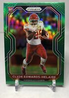 2020 Panini Prizm Football Clyde Edwards Helaire Green Parallel