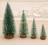1/5/10x Mini albero di Natale da tavolo Albero di pino Xmas Party Ornament