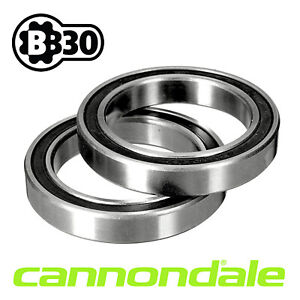 Cannondale Bottom Bracket BB30 PF30 Bearings  •Top Quality •RS Bearings •Pair