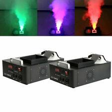 2pcs Vertical RGB 3 in1 24 LED DMX Fog Machine Stage Smoke Lighting W/ Remote