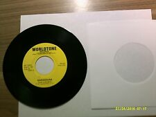 Old 45 RPM Record - Worldtone WT 10024 - Karagouna / Zorba (Greek circle dances)