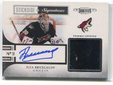 2010-11 Dominion Stickside Signatures 9 Ilya Bryzgalov Stick Auto 40/50