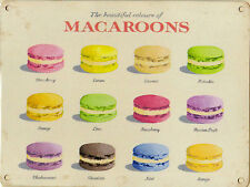 New 15x20cm Beautiful Macaroon Martin Wiscombe small metal advertising sign