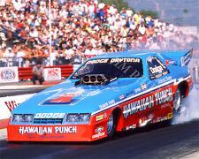 FUNNY CAR PHOTO NHRA DRAG RACING HAWAIIAN  JOHNNY WEST POMONA 1987
