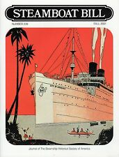 """#239 NORWAY, INDEPENDENCE """"Steamboat Bill"""" fall 2001 -SSHSA MAILS WORLDWIDE"""