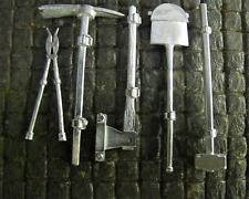 WWII Bord Werkzeug Set Metall Bausatz Kit TIGER I HL Panzer Umbau Diorama 1/16