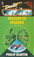 RARE NEUF & MINT : Doctor Who - Mission pour magnus. 1st édition Target livres