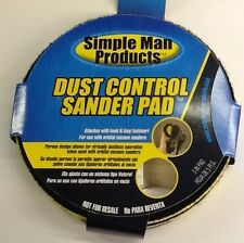 simple man products dust control sander pad (pkg Of 2)