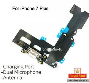 For iPhone 7 Plus Charging Port Charger Flex Headphone Jack microphone Antenna