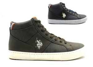 Bottes Casual Homme US Polo Assn Barney Baskets Hautes Chaussures Confortable