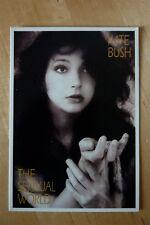 Kate Bush RARE Vintage Postcard Colour Photo 1980s The Sensual World