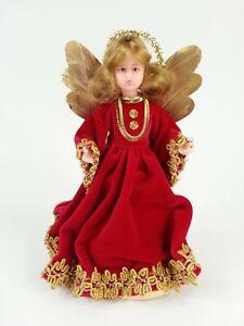 Felicitas Kreutzer Handarbeit Carola Azenberger Christmas Tree Topper Angel