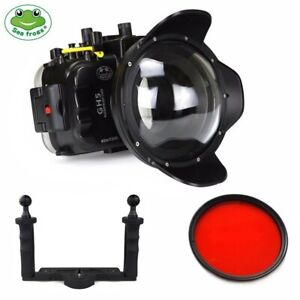 Seafrogs 40m Underwater Camera Housing Kit w/ Dome Port for Panasonic GH5 GH5S