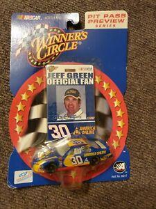 NASCAR 2002 Winners Circle 03219 Jeff Green #30 Pit Pass Preview 1:64