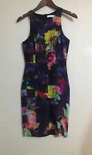 TALILAH  GOURGOUS SILK WRAP DRESS SIZE SMALL OR SIZE 8-10