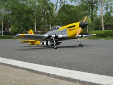 P51D Mustang 35cc RC Plane ARF (Yellow) (90A-319Y)