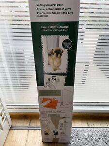 Petsafe Aluminium Sliding Glass Door Insert No cutting required Cat Dog Pet Flap