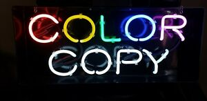 VARIETY OF COLORS AFFORDABLE 10in.Tall REFURBISHED NEON LETTERS 13mm