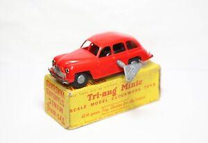 Triang Minic Standard Vanguard In Its Original Box - Near Mint Clockwork Rare