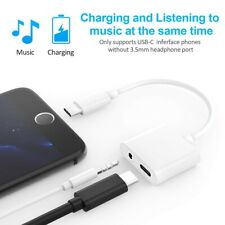 Adapter Charge and Headphone 2 in 1 Type-C to 3.5mm Head Aux Audio USB C Cable