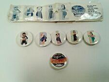 Vintage Spice Girls Pins Set of 6 1997