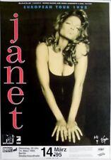 JACKSON, JANET - 1995 - Konzertplakat - Concert - Tourposter - Berlin